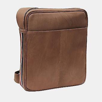 Primehide Mens Petite Tablette En cuir Messenger Sac Épaule Homme Sac Gents 8411