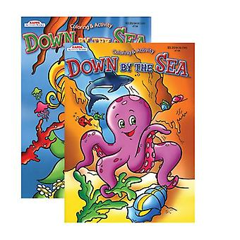 738-48, KAPPA Down By The Sea Coloring & Activity Book