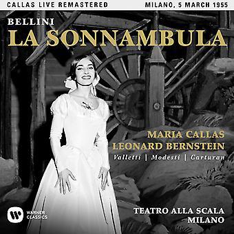 Callas*Maria - Bellini: La Sonnambula (Milano 05/03/1955) [CD] De invoer van de V.S.