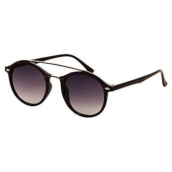 Sunglasses Unisex black with grey lens (2150 P)