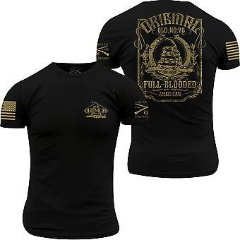 Grognement Style vieux N76 T-Shirt-Black