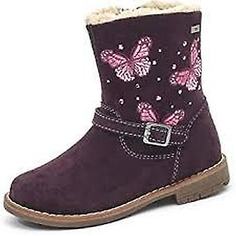Lurchi fiby-tex burgundy waterproof butterfly boots