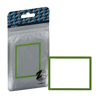 Zedlabz replacement screen lens plastic cover for nintendo ds lite [ndsl] - green