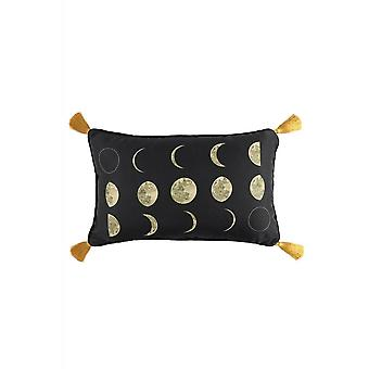 Gothic Homeware Moon Phases Rectangular Cushion