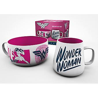 DC Comics Wonder Woman Brave Ontbijt Set