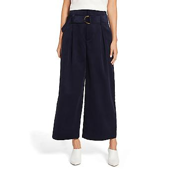 1.State | High-Waisted Wide Leg Corduroy Pants