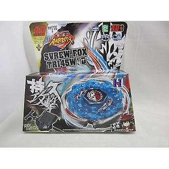 27 Style, 4d System Beyblade Metal Fusion With Power Launcher Kit