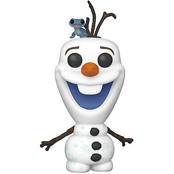 Funko - Disney Frozen 2 Olaf z Bruni POP! Winylowe dzieci Niania