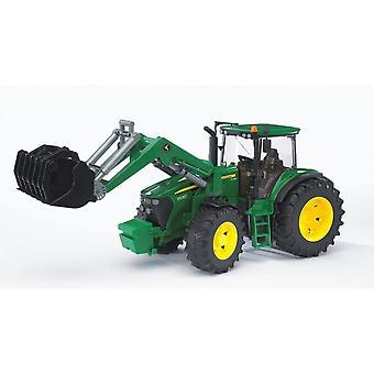 Bruder -John Deere 7930 Traktori etukuormaimella 1:16 03051