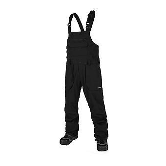 Volcom Roan Bib Overalls - Black
