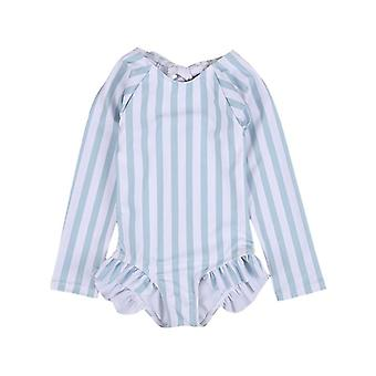 6m-5t niño bañador bebé Ray Sun Protection Long Sleeve Summer Beachwear