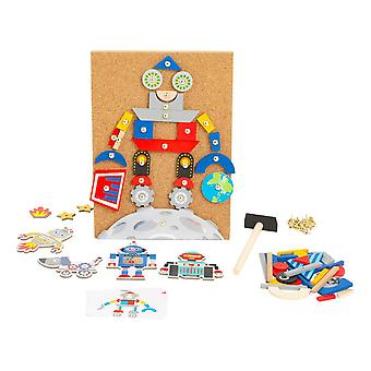 Legler Small Foot Children's Robots Hammering Game (11572)