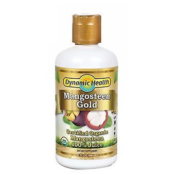 Dynamic Health Laboratories Mangosteen, Gold 100% Pure, 32 Oz
