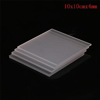 1pcs/2-5mm Clear Acrylic Perspex Sheet, Cut Plastic Transparent Board, Perspex