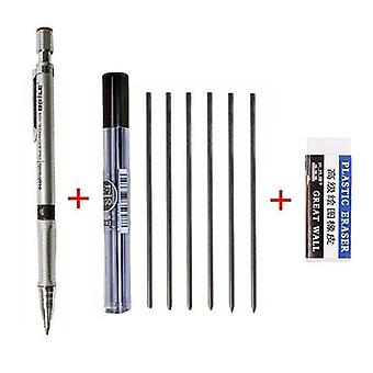 Cute Mechanical Pencil, Writing Activity Pencil With Refill Rod, Eraser Set