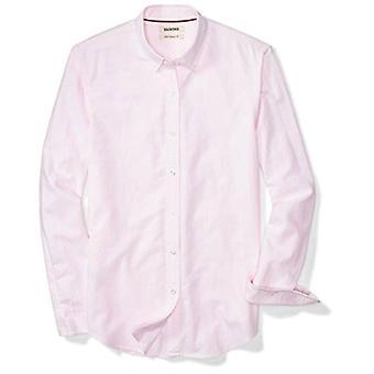 Marke - Goodthreads Men's Slim-Fit Long-Sleeve Stripe Oxford Shirt, Pi...