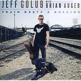 Jeff Golub - Train Keeps a Rolling [CD] USA import