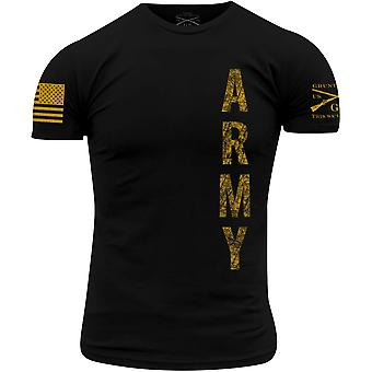 Grunt Style Army - Vertical T-Shirt - Zwart