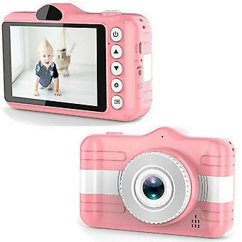 Kids Mini Kamera Video videokamera legetøj, sød, genopladelig digital, uddannelse
