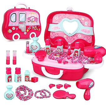 Dreamon role play jewellry kit for girls toy set princess suitcase gift for children kids 3 years ol