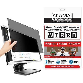 """Akamai produse de birou (ecran de confidențialitate măsurat în diagonală pentru monitoare de calculator cu ecran lat """"Ķ (24."""