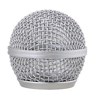 Chrome Musician's Gear Mesh Microphone Grille s'adapte Sm-58