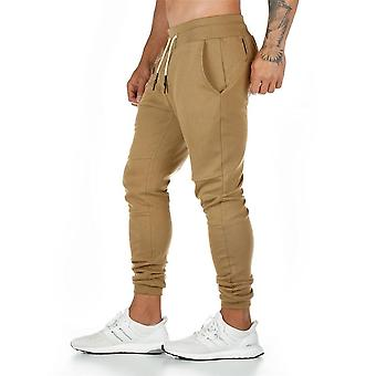 Joggers Sweatpants Men Casual Pants Solid Color Gyms Fitness Workout Sportswear