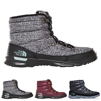 Womens The North Face ThermoBall Lace II Water Resistant Winter Boots