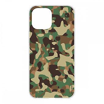 Sag til iPhone 12 Mini (5.4) Fleksibel militær camouflage