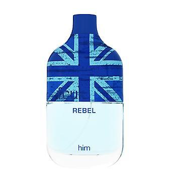 FCUK Rebel For Him Eau De Toilette Spray for Men 100 ml