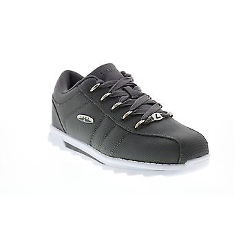 Lugz Charger II Ballistic  Mens Gray Canvas Lifestyle Sneakers Shoes