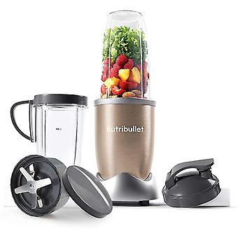 NutriBullet 900W Blender Champagne Multi-Function Cold Beverage Smoothie Maker & 2 Cup Sizes and St