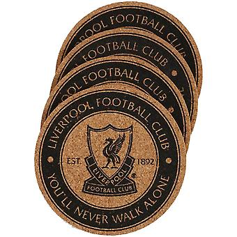 Liverpool FC Coaster Set (Pack of 4)