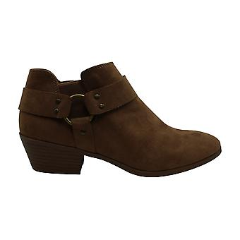 Style & Co. Womens Winnde Leather Almond Toe Ankle Fashion Boots