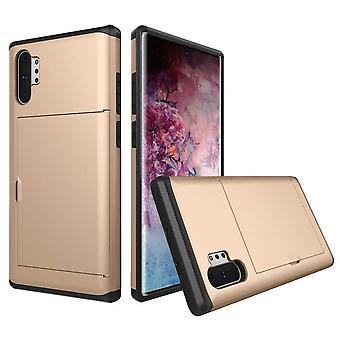 Kotelo taskulla Samsung Galaxy S9 + / S9 Plus - Kulta