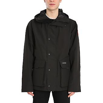 Canada Goose 2429m61 Men's Black Polyester Outerwear Jacket