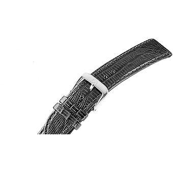 Montre bracelet homme or plaqué 18 mm en acier inoxydable