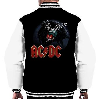 AC/DC Mosquito From Above Logo Men's Varsity Jacket