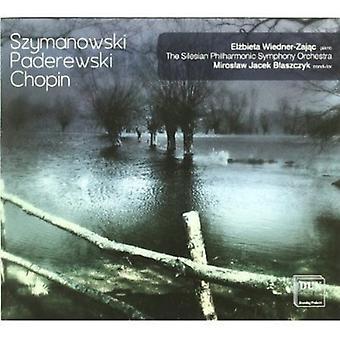 Chopin/Paderewski/Szymanowski - Elzbieta Wiedner-Zajac Plays Szymanowski, Paderewski, Chopin [CD] USA import