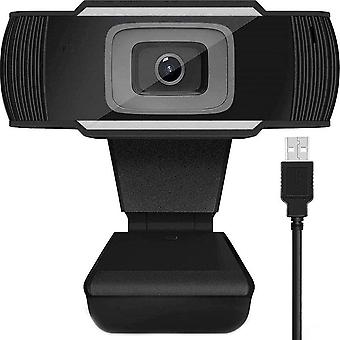 Full HD 1080p webcamera - pc camera - zwart / zilver