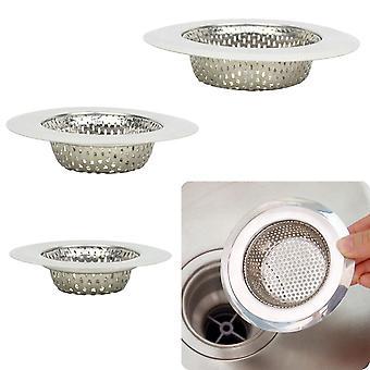 Kitchen Sink Strainer Drain Hole Filter Trap Metal Sink Strainer