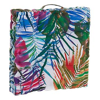 Cojín DKD Home Decor Sheets Ocean Floor Multicolor (43 x 43 x 7 cm)