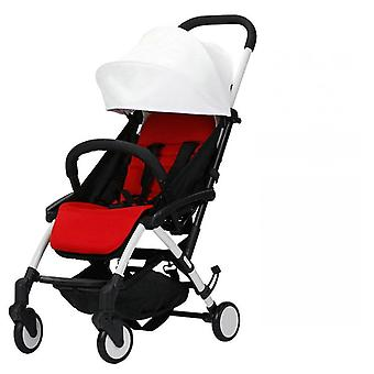 Baby Lightweight Stroller With Aluminum Alloy Frame, Rubber Wheel, Portable