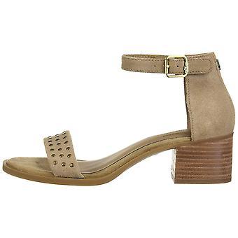 Koolaburra by UGG Womens bellen Suede Peep Toe Casual Ankle Strap Sandals