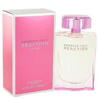 Kenneth Cole Reaction Eau De Parfum Spray By Kenneth Cole 3.4 oz Eau De Parfum Spray
