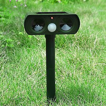 Ultrasonic Solar Power Pest & Animal Garden Repeller