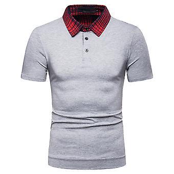 YANGFAN Camiseta casual de polo para hombre