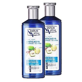 Natur Vital Anti-dandruff shampoo 2 pieces