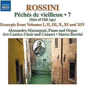 Rossini / Marangoni / Berrini - Rossini / Marangoni / Berrini: Complete Pno Music 7-Peches De Vieillesse [CD] USA import
