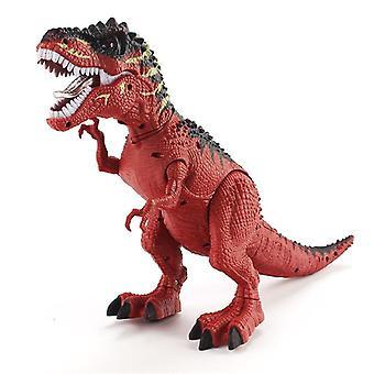 Electric Dinosaur Tyrannosaurus Rex Walking Light Sounds Animal Model